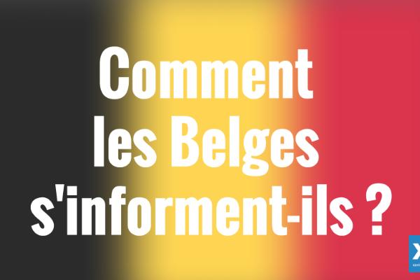 Comment les Belges s'informent-ils ? Les chiffres-clés (étude Oxford)