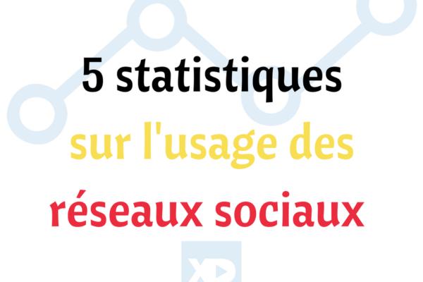Belgique : 5 statistiques sur l'usage des réseaux sociaux (nouvelle étude)