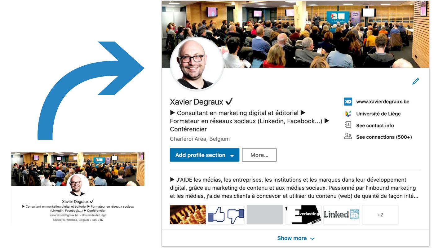 Profil Linkedin : 5 points d'action pour profiter du nouveau design