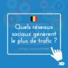 Belgique : quels réseaux sociaux génèrent le plus de trafic sur les sites (infographies)