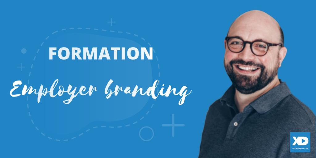 Formation Employer Branding - Xavier Degraux