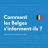 Les Belges s'informent davantage via les réseaux sociaux que via la presse écrite (étude juin 2020)