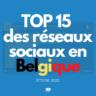 Réseaux sociaux en Belgique : toutes les statistiques 2021 (étude)